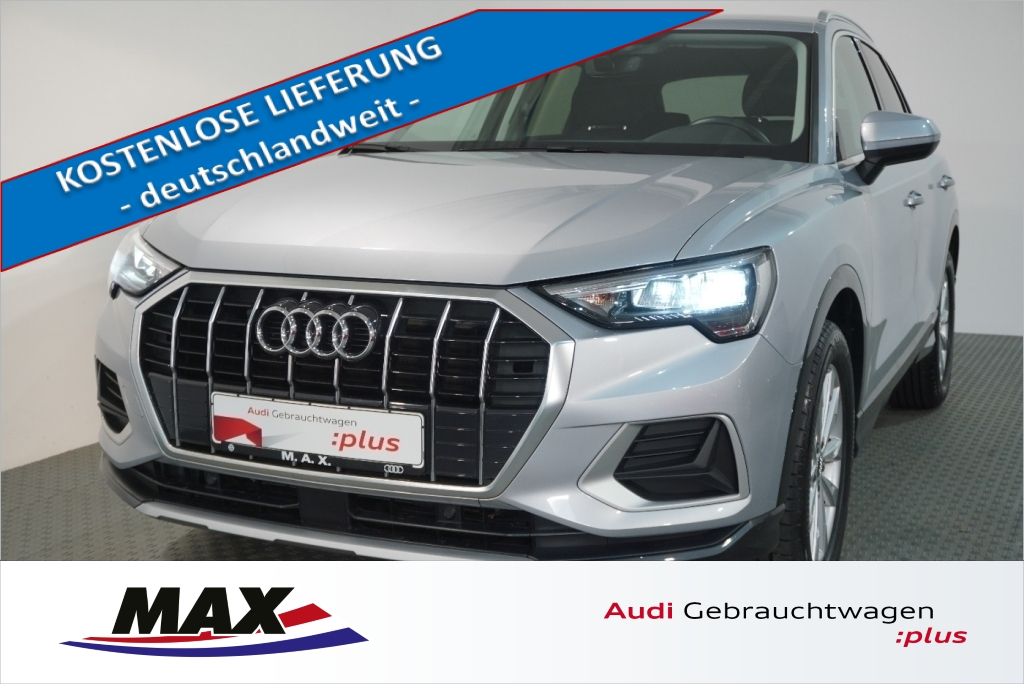 Audi Q3 35 TFSI Advanced 5j GAR LED AHK 0,99%, Jahr 2019, Benzin