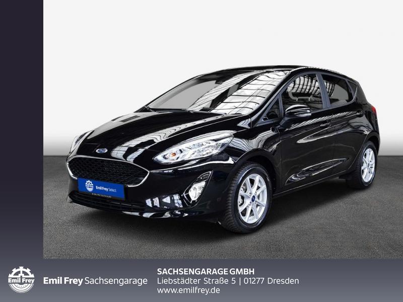 Ford Fiesta 1.1 COOL&CONNECT Klamaaut. Navi DAB PDC h., Jahr 2019, Benzin