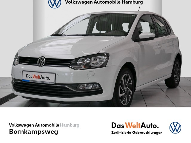 Volkswagen Polo 1,0 SOUND,USB,SITZHZG,CLIMATRONIC, Jahr 2017, Benzin