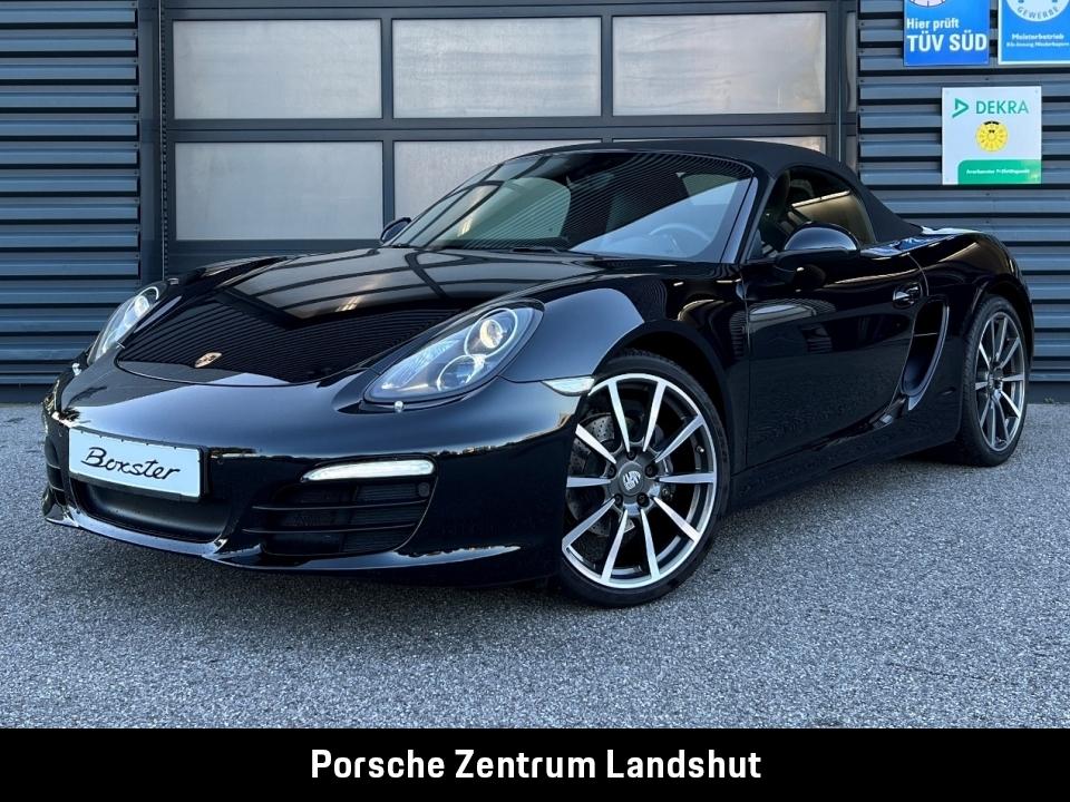 Porsche Boxster (981) Black Edition | SportabGasanlage |, Jahr 2016, Benzin