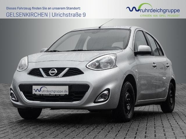 Nissan Micra 1.2 Acenta Klimaautomatik,Radio,CD, Jahr 2013, petrol