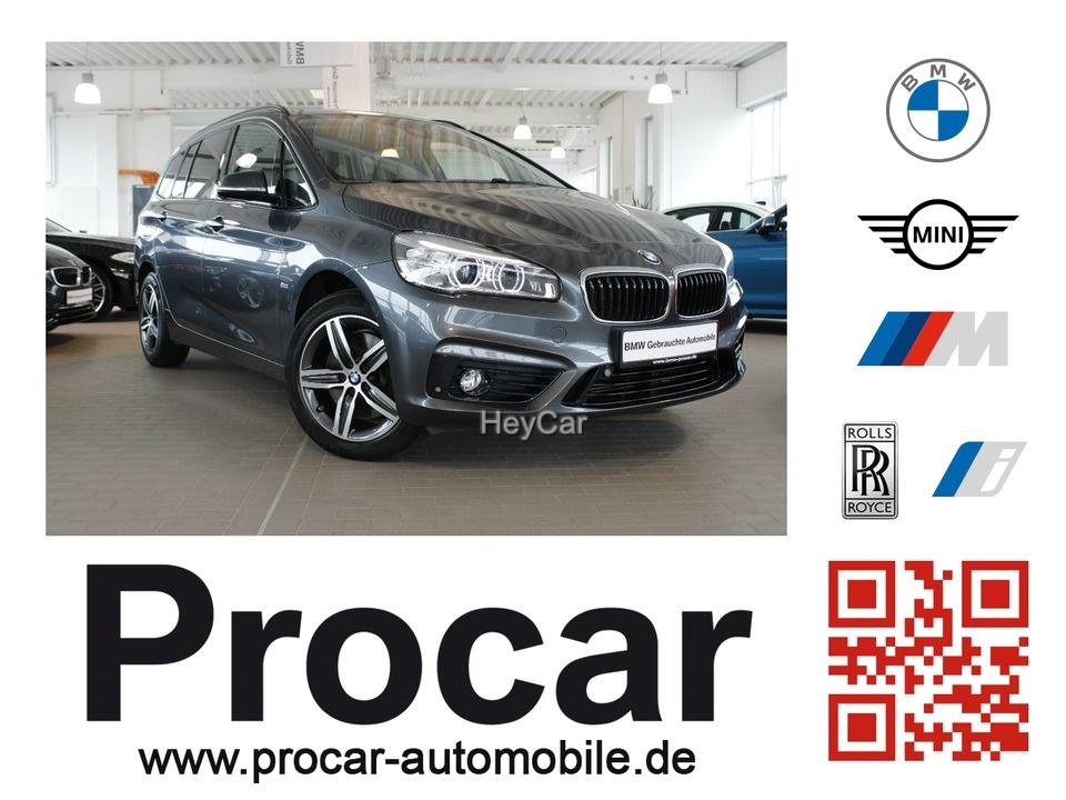 BMW 220 Gran Tourer Sport Line LED Navi 7-Sitzer, Jahr 2017, Benzin