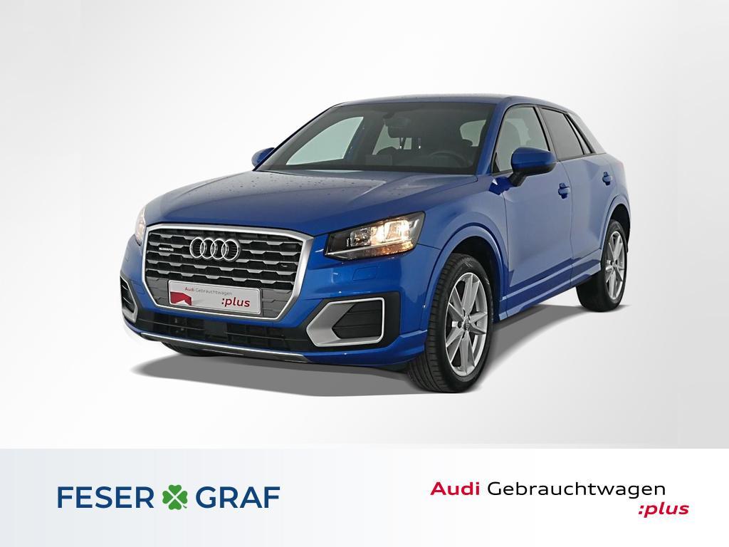 Audi Q2 2.0 TDI qu S tronic S Line Leder,PDC,AHK, Jahr 2017, Diesel