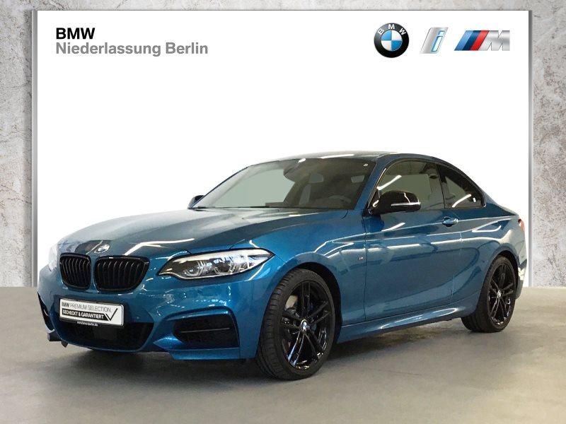 BMW M240i Coupé EU6d-Temp Aut. LED NaviProf Glasdach, Jahr 2019, Benzin
