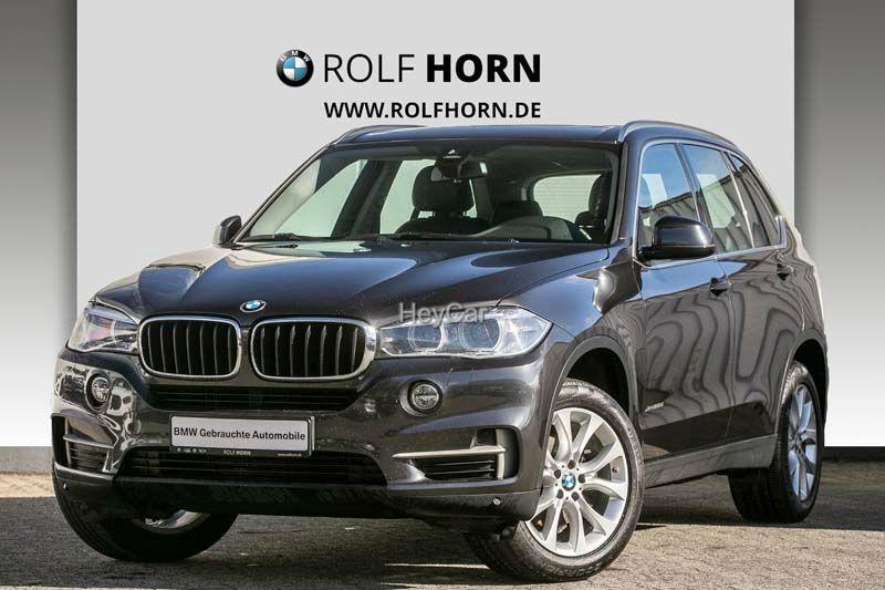 BMW X5 xDrive25d Navi PanoDach AHK Leder SHZ EURO 6, Jahr 2017, Diesel