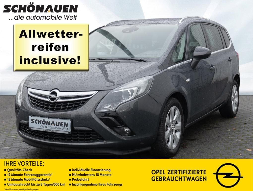 Opel Zafira Tourer 1.6 CNG INNOVATION +FK+AGR+AHK+NAV, Jahr 2013, Gas
