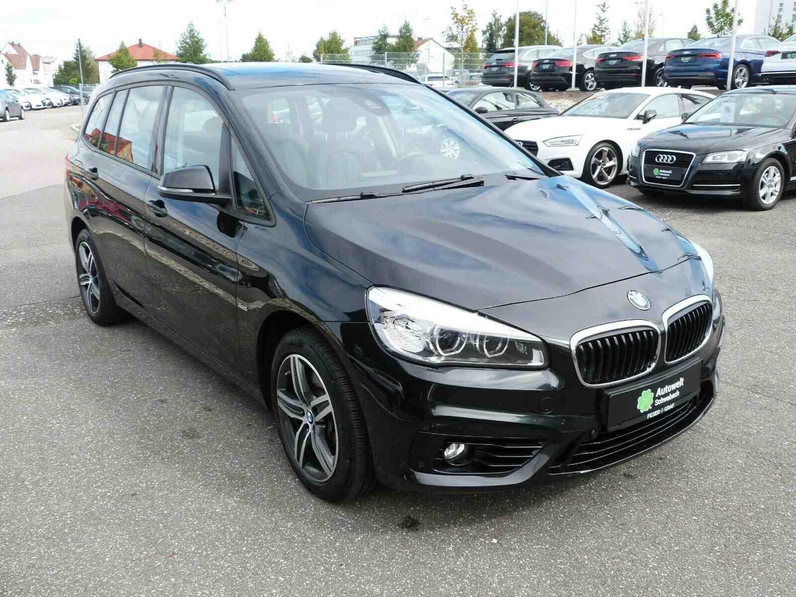 BMW 220 Gran Tourer 220d Gran Tourer Aut. Sport Line, Jahr 2016, Diesel