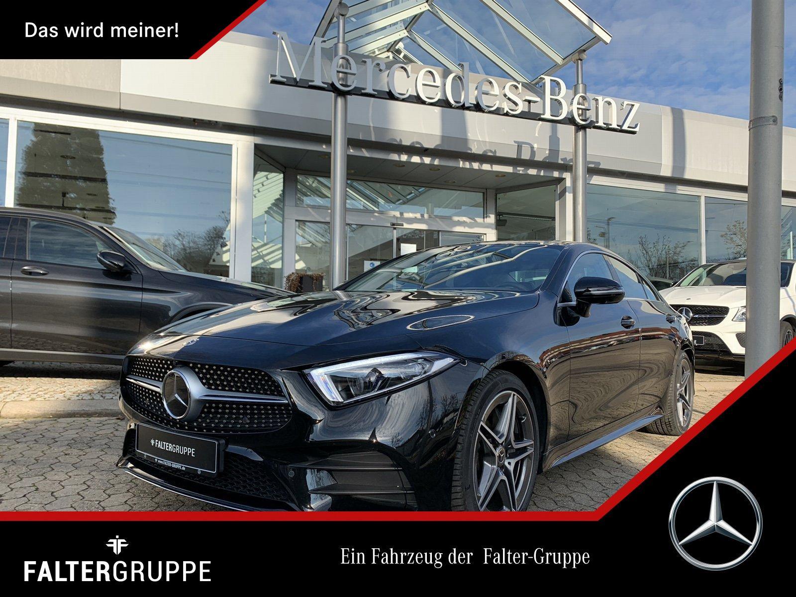 Mercedes-Benz CLS 400d 94.908-AMG DISTR ABC MLED GSD Widescrn, Jahr 2019, Diesel