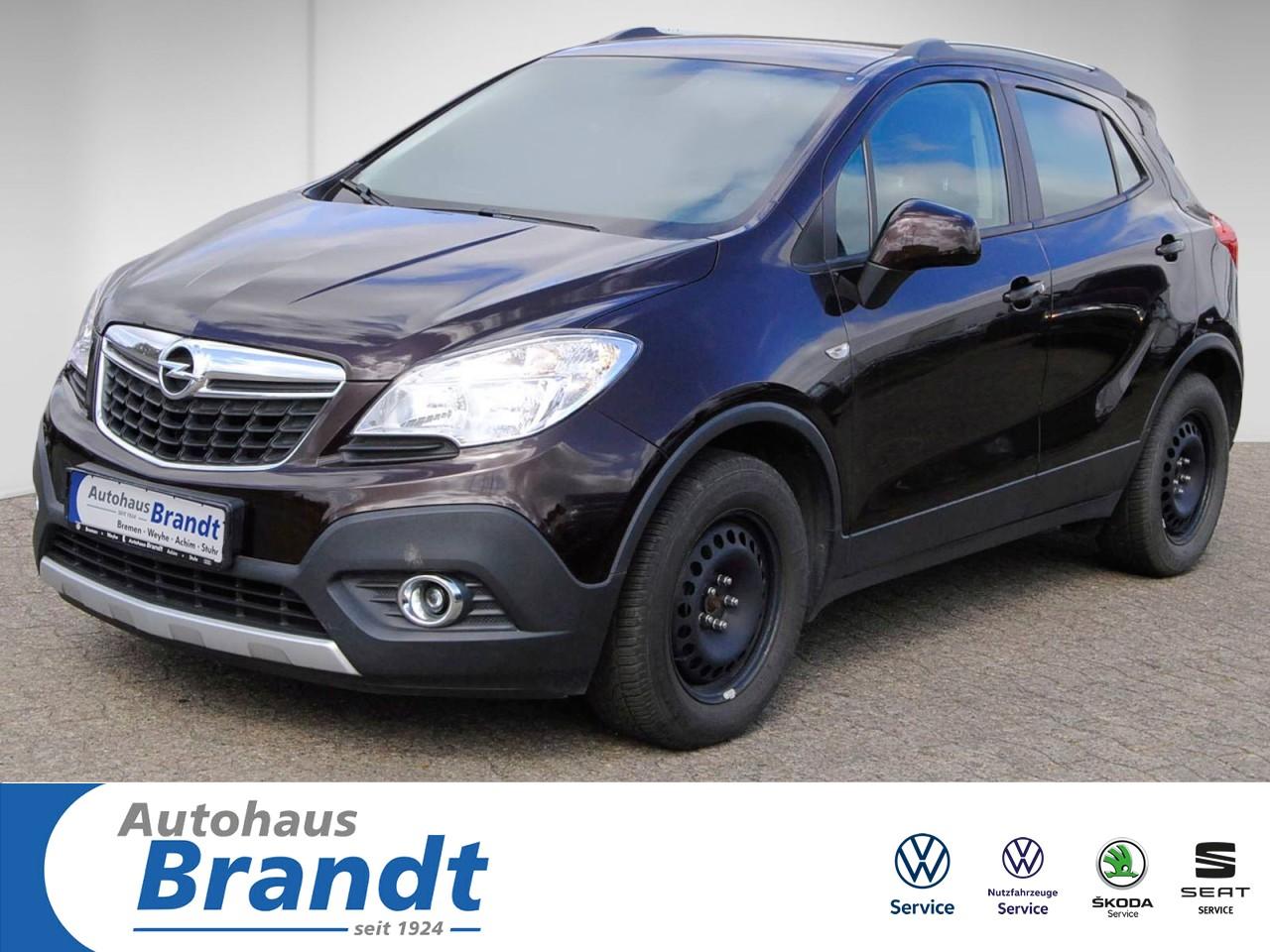 Opel Mokka 1.6 Edition ecoFlexTEMPOMAT*AHK Klima, Jahr 2013, Benzin