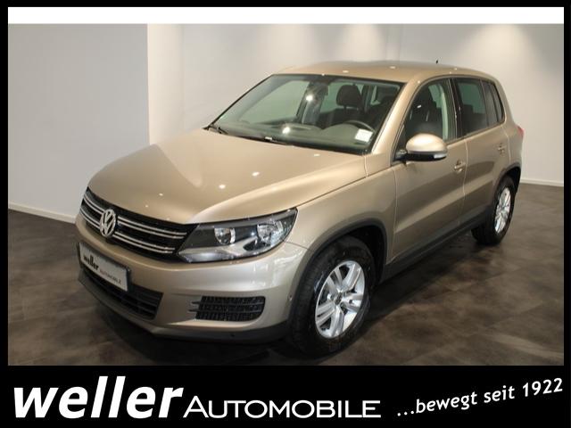 Volkswagen Tiguan 1.4 TSI TREND&FUN Parksensoren Klimaautomatik, Jahr 2014, Benzin