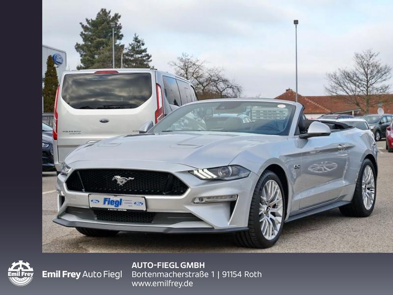 Ford Mustang Convertible 5.0 V8 Aut. *NAVI *XENON, Jahr 2019, Benzin