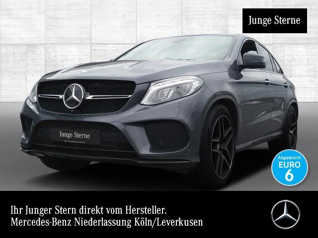 Mercedes-Benz GLE 500 Cp. 4M AMG 360° Airmat Stdhzg Pano Harman, Jahr 2016, petrol