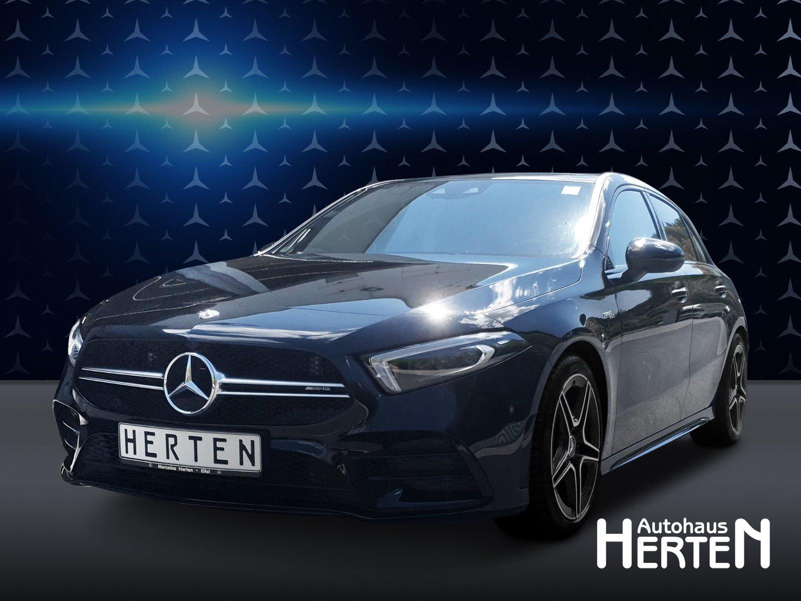 Mercedes-Benz Mercedes-AMG A 35 4M+AMG NIGHT+PANO+MULTIBEAM, Jahr 2019, Benzin