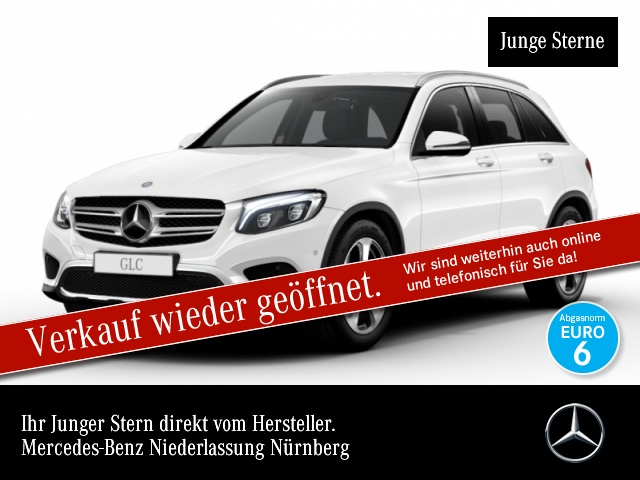 Mercedes-Benz GLC 220 d 4M Exclusive ILS LED AHK Kamera Navi PTS, Jahr 2016, Diesel