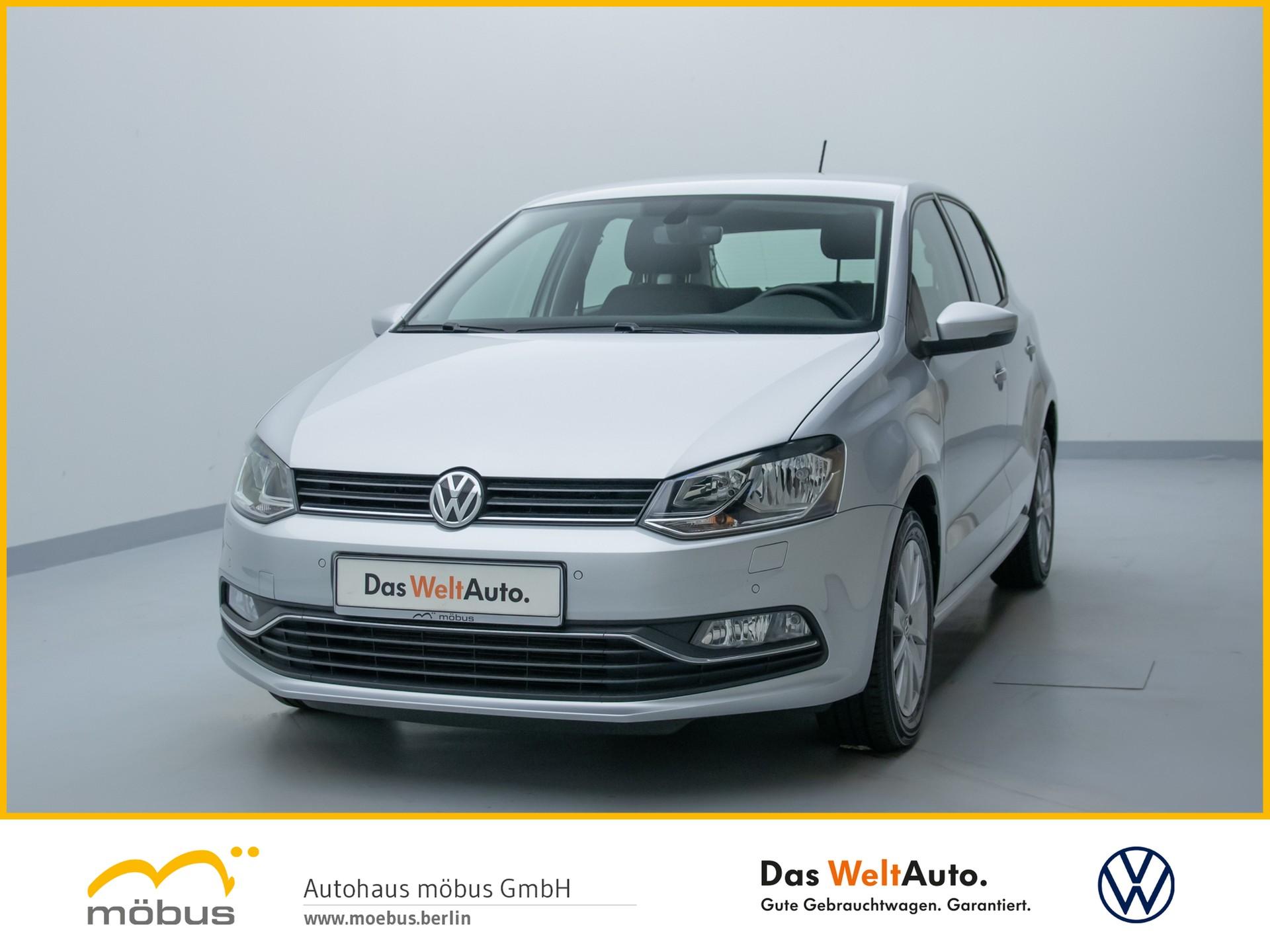 Volkswagen Polo 1.0 COMFORTLINE NAVIGATION+KLIMA+SITZHZ+GRA, Jahr 2017, Benzin