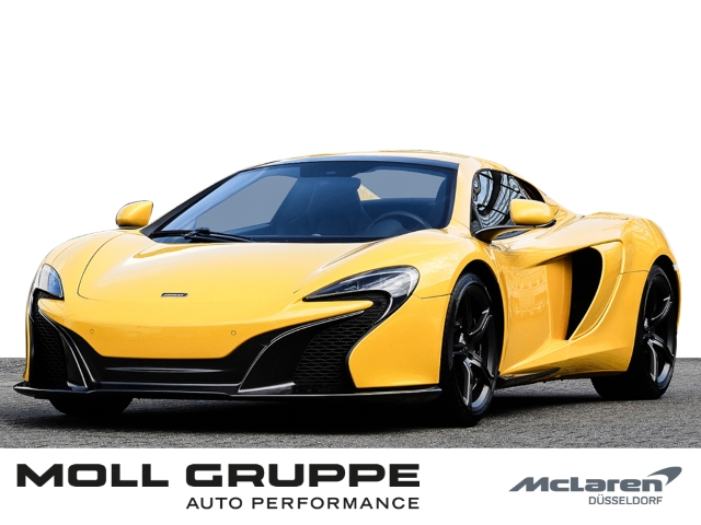 McLaren 650S Spider Elite Volcano Yellow, Sports Exhaust, Jahr 2016, petrol