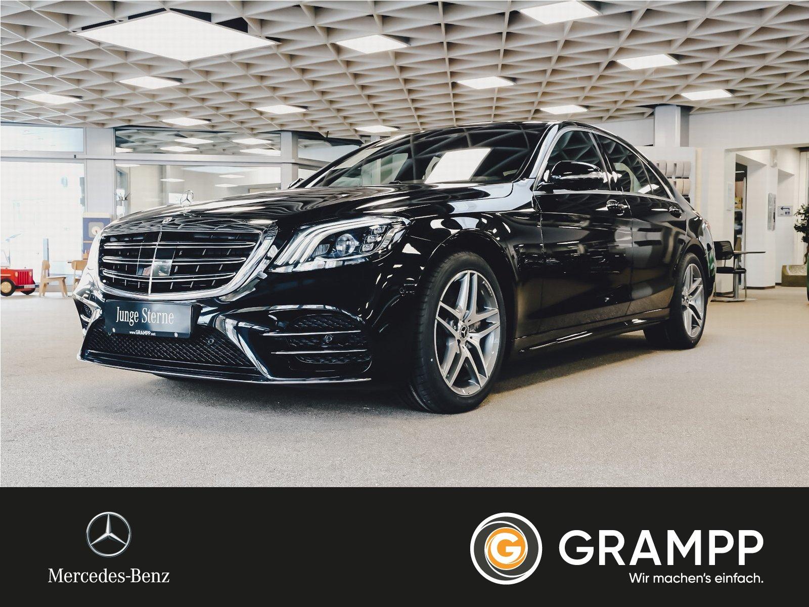 Mercedes-Benz S 450 AMG Distronic/Kamera/Massage/HUD/8-fach, Jahr 2019, hybrid