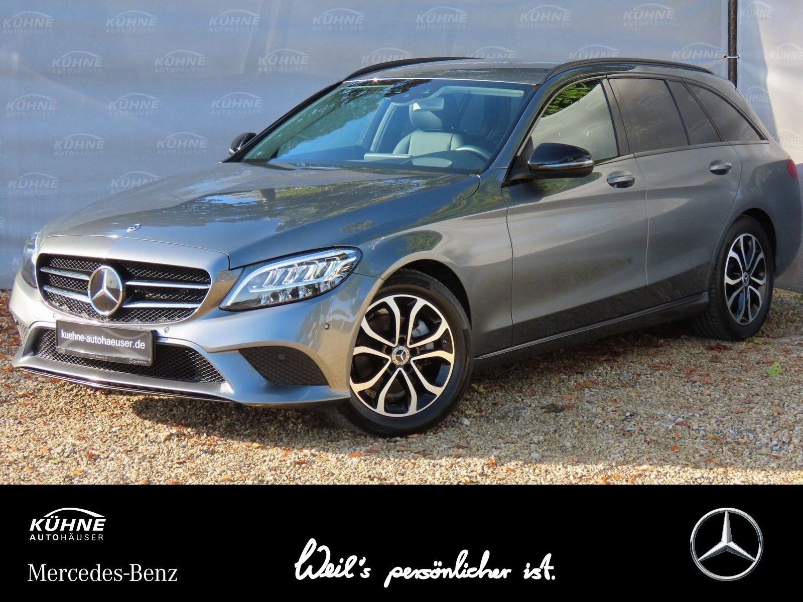 Mercedes-Benz C 220d T Distronic+Comand+Kamera+LED+Night-Paket, Jahr 2019, Diesel