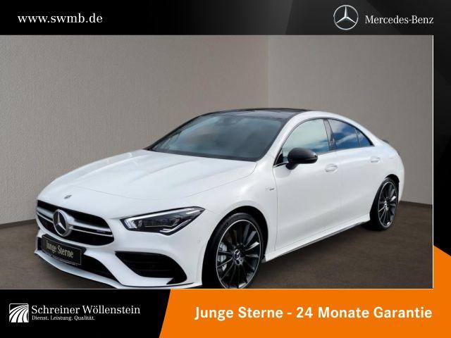 Mercedes-Benz CLA 35 AMG 4M PanoSD*NightP*StHeiz*Aerodyn.P*Kam, Jahr 2020, Benzin