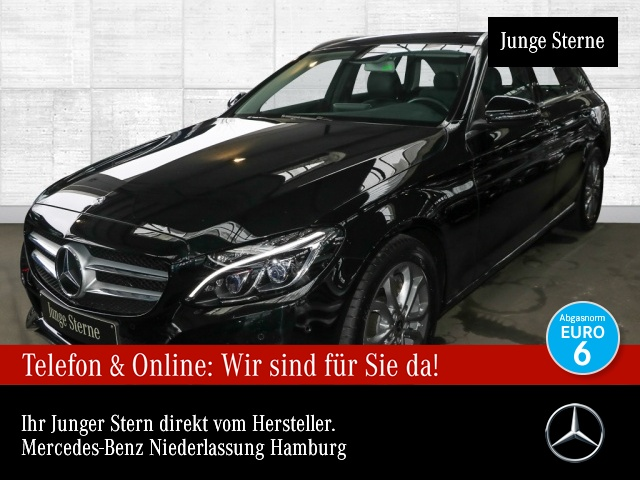 Mercedes-Benz C 220 d T Avantgarde COMAND ILS LED AHK Kamera EDW, Jahr 2017, Diesel