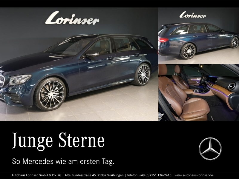 Mercedes-Benz E 43 AMG 4M T DISTRONIC/SITZKLIMA/COMAND/LED/PTS, Jahr 2017, Benzin