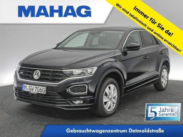 Volkswagen T-ROC 1.5 TSI R line Ext. United Navi ActiveInfo LED AHK AppConnect DAB+ LaneAssist FrontAssist 19Zoll DSG, Jahr 2020, Benzin