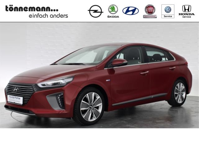 Hyundai IONIQ HYBRID DCT+BI-XENON+ASCC+NAVI+SOUNDSYSTEM+MÜDIGKEITSERKENNUNG+FERNLICHTASSISTENT, Jahr 2019, Hybrid