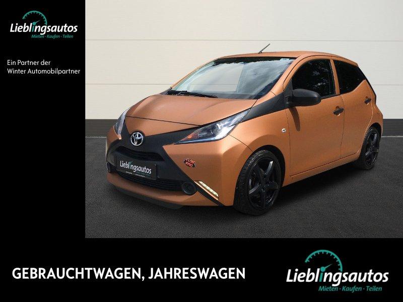 Toyota Aygo 1.0 VVT-i x KLIMA/LM/SPORTFAHRWERK/MFL/ZV, Jahr 2015, Benzin