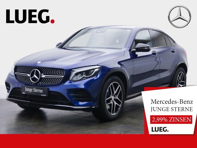 Mercedes-Benz GLC 250 4M Coupé AMG+COM+SHD+LED+AHK+SpurPk+360°, Jahr 2016, Benzin