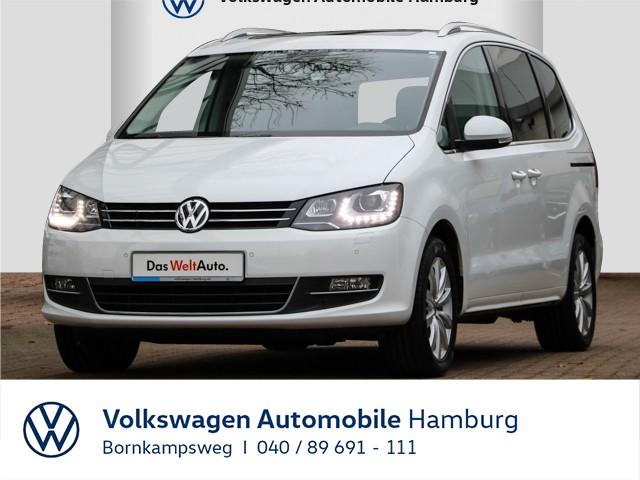 Volkswagen Sharan 2,0 TDI Highline DSG/RÜKA/PANO/NAVI/LEDER/AHK, Jahr 2016, Diesel