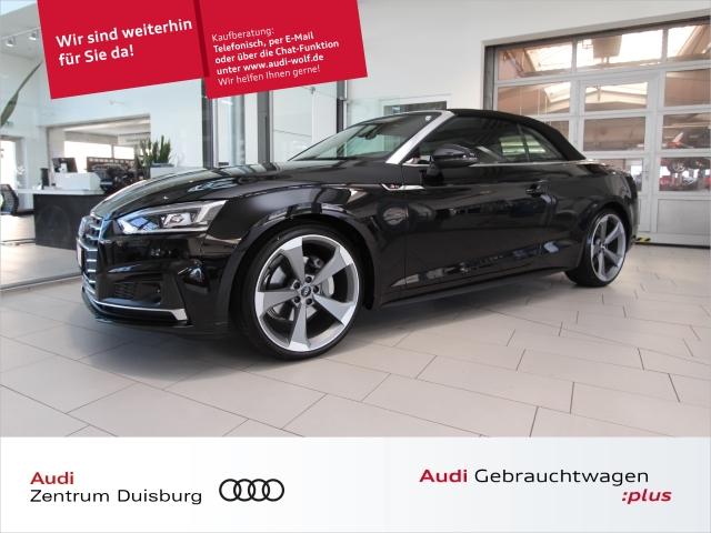 Audi A5 Cabriolet 40 TDI qua. 3xS-line Leder LEDACC, Jahr 2019, Diesel