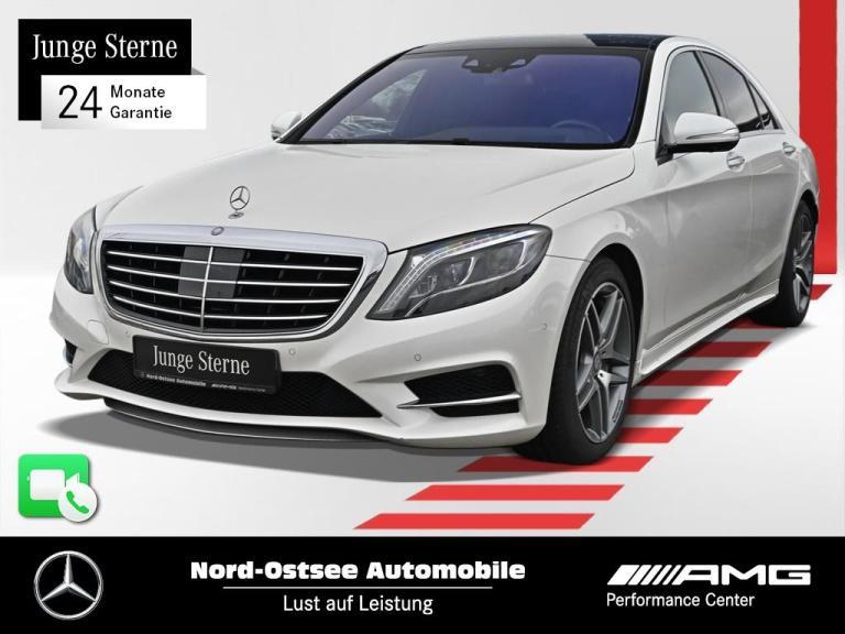 Mercedes-Benz S 350 BT AMG Line Comand Pano 360° Distr. Standh, Jahr 2014, Diesel