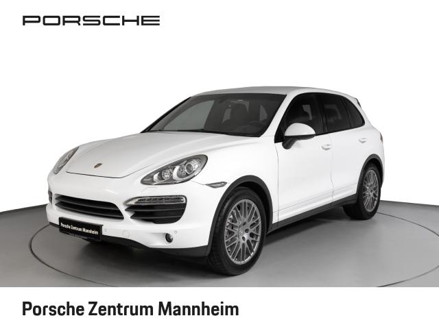 Porsche Cayenne S Xenon Luft Navi Bose Sitzh. 20'', Jahr 2012, petrol