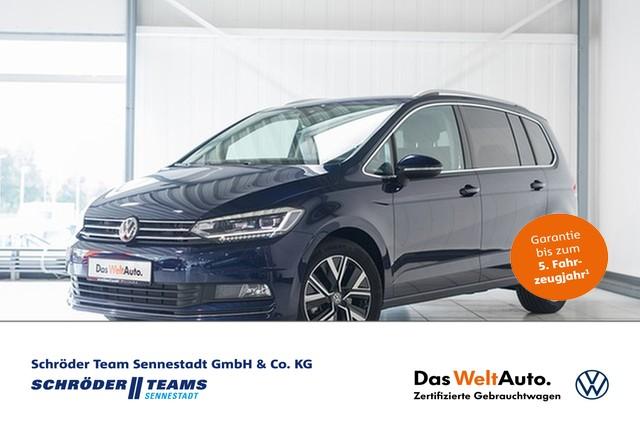Volkswagen Touran 2.0 TDI DSG Highline 7-Sitzer,Standheizung,Telefon,Navi,LED, Jahr 2019, Diesel