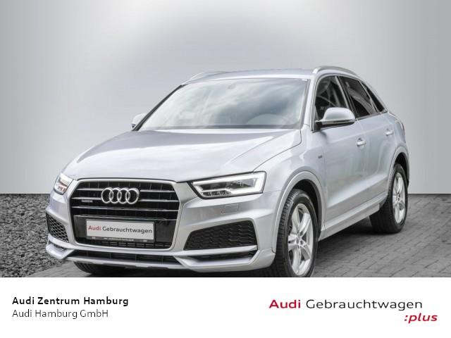 Audi Q3 2,0 TFSI sport quattro S tronic S LINE AHK KAMERA, Jahr 2018, Benzin