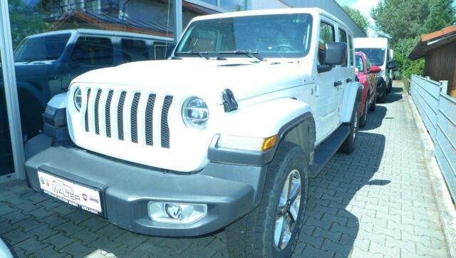 Jeep Wrangler Unlimited Sahara JL 2.0T-GDI 4x4 AT8, Jahr 2019, Benzin