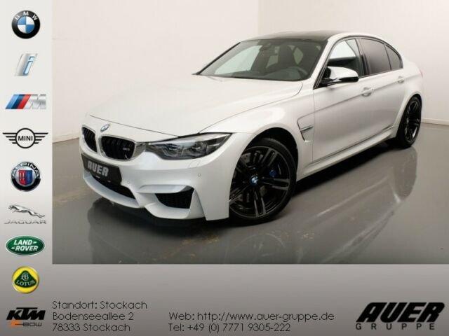 BMW M3 Limousine (NaviProf HuD H/K DAB DDC), Jahr 2017, petrol