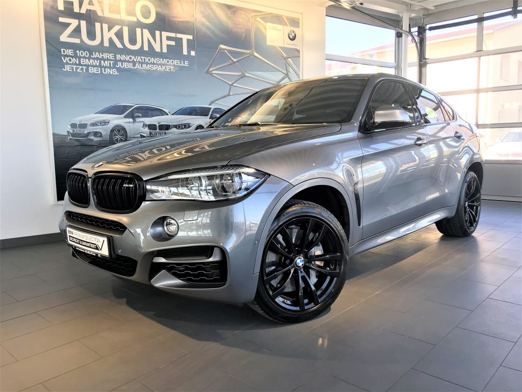 BMW X6 M50d KOMF+HUD+LED+HARMAN+SOFTC+BELÜF+GLASDACH, Jahr 2017, Diesel