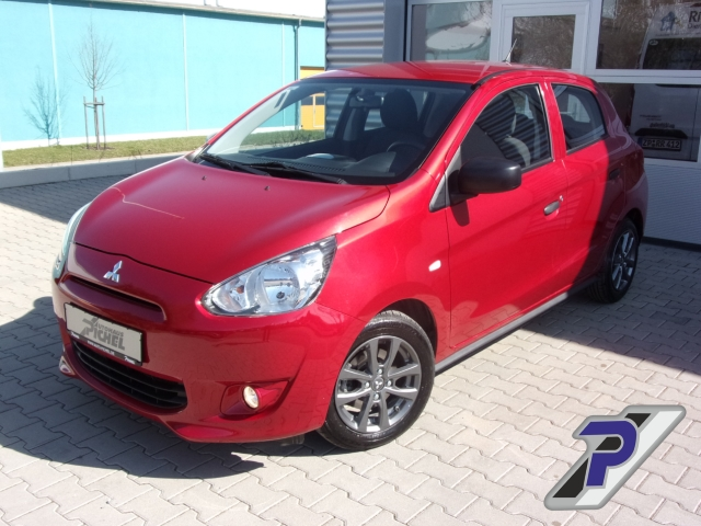 Mitsubishi Space Star Diamant Edition NR RDC Klima CD USB MP3 ESP Seitenairb., Jahr 2015, Benzin