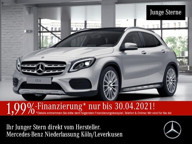 Mercedes-Benz GLA 250 4M AMG Pano LED Kamera Navi Totwinkel PTS, Jahr 2019, Benzin