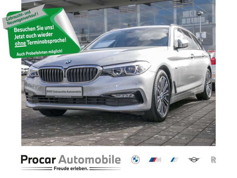 BMW 525d Touring Sport Line Aut. Navi LED RFK HIFI, Jahr 2018, Diesel