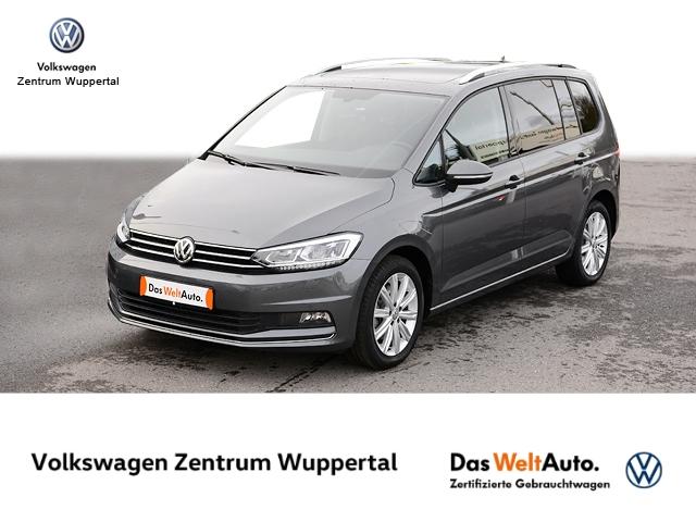 Volkswagen Touran 1 6 TDI United DSG NAVI LED PANO SHZ PDC, Jahr 2020, Diesel