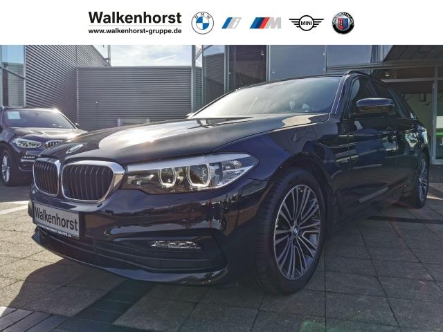 BMW 530 d xDrive Sport Line Touring EURO 6 Aut LED Navi Temp Klima, Jahr 2017, Diesel