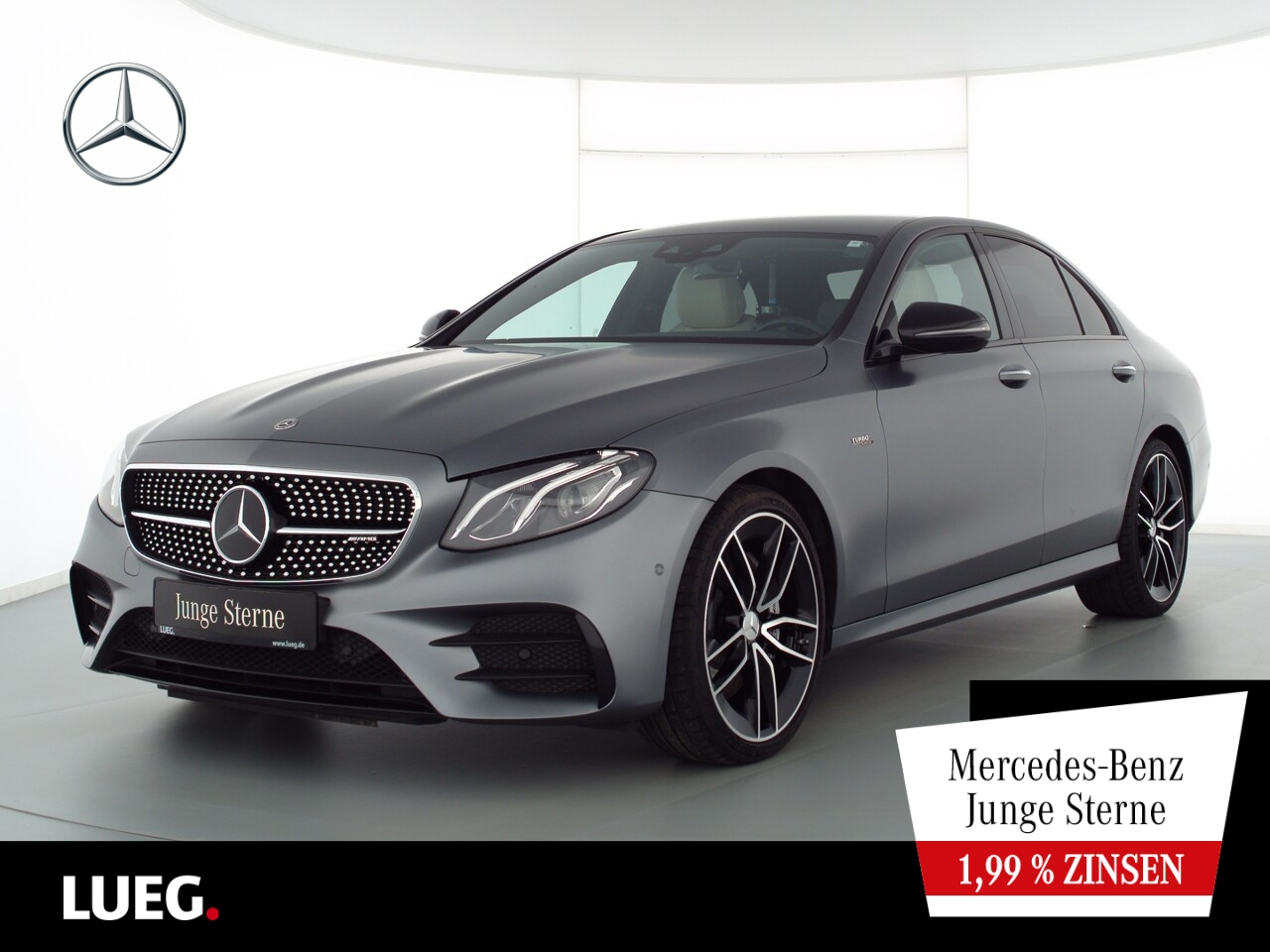 Mercedes-Benz E 53 AMG 4M+ COM+Burm+LED+Distr+Wide+20+KeyG+RFK, Jahr 2019, Benzin