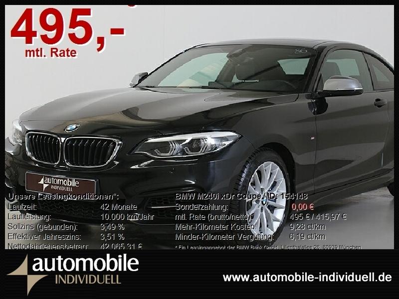 BMW M240i xDr Coupé LED H&K Navi Leder, Jahr 2020, Benzin