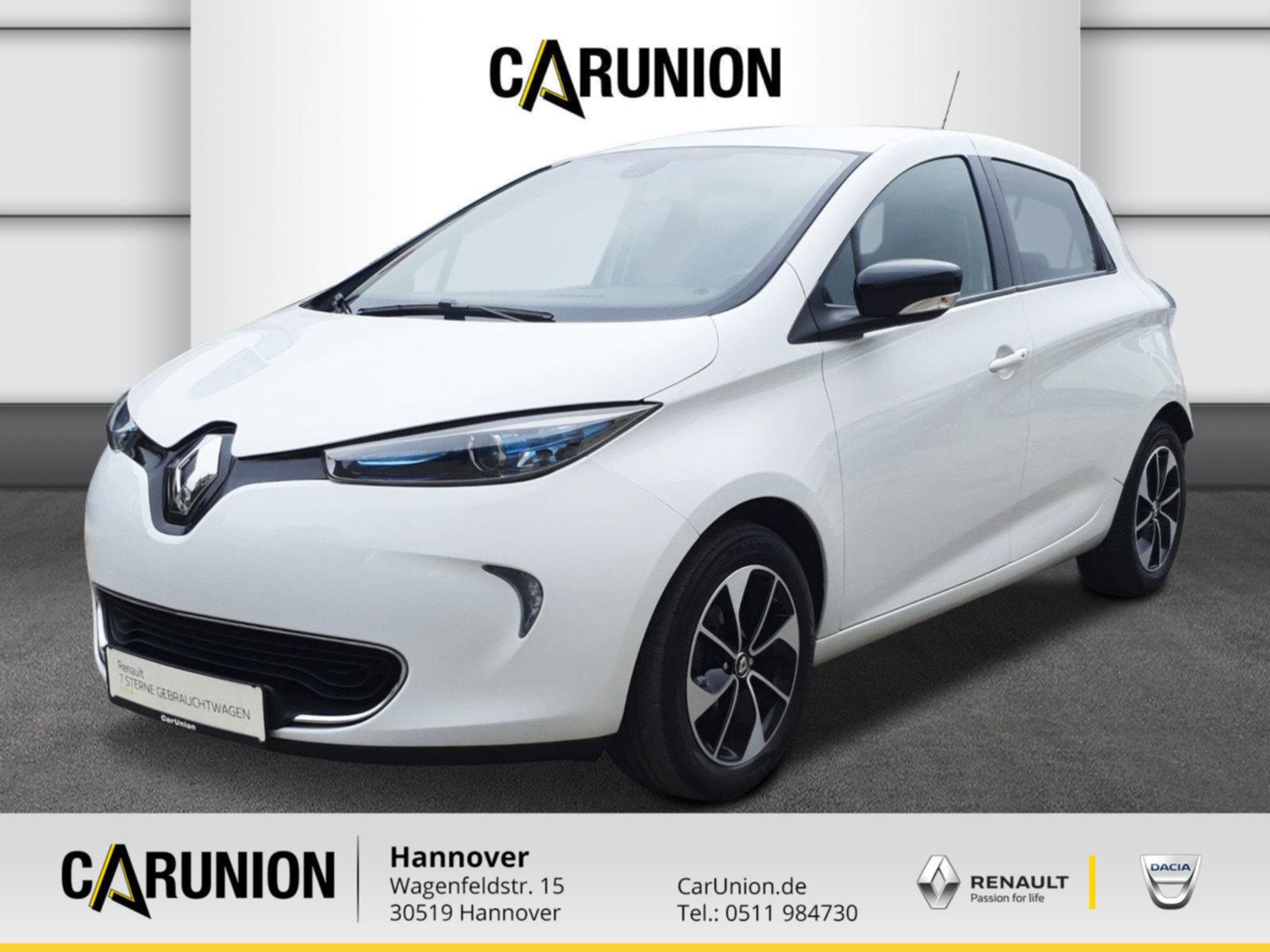 Renault ZOE INTENS zzgl.Batteriemiete, Jahr 2017, Elektro