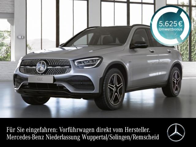 Mercedes-Benz GLC 300 de 4M AMG+Night+Pano+LED+Kamera+Spur+Totw, Jahr 2020, Hybrid_Diesel