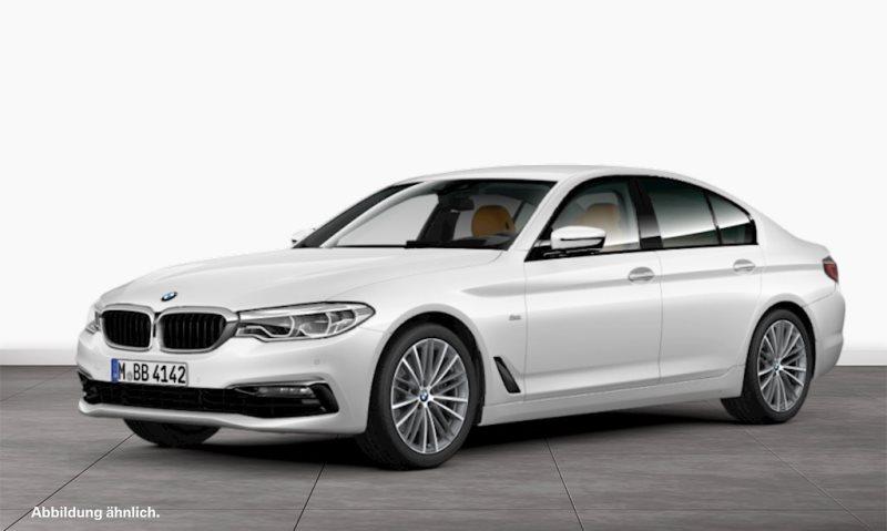 BMW 520d xDrive Limousine Sport Line EURO6 Gestiksteuerung HiFi, Jahr 2017, Diesel