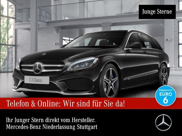 Mercedes-Benz C 350 e T Edition C AMG Distr. COMAND ILS LED AHK, Jahr 2018, Hybrid