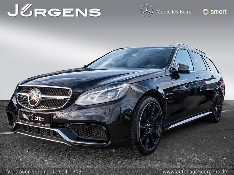 Mercedes-Benz AMG E 63 S 4MATIC T-Modell Avantgarde+Sitzklima, Jahr 2016, petrol